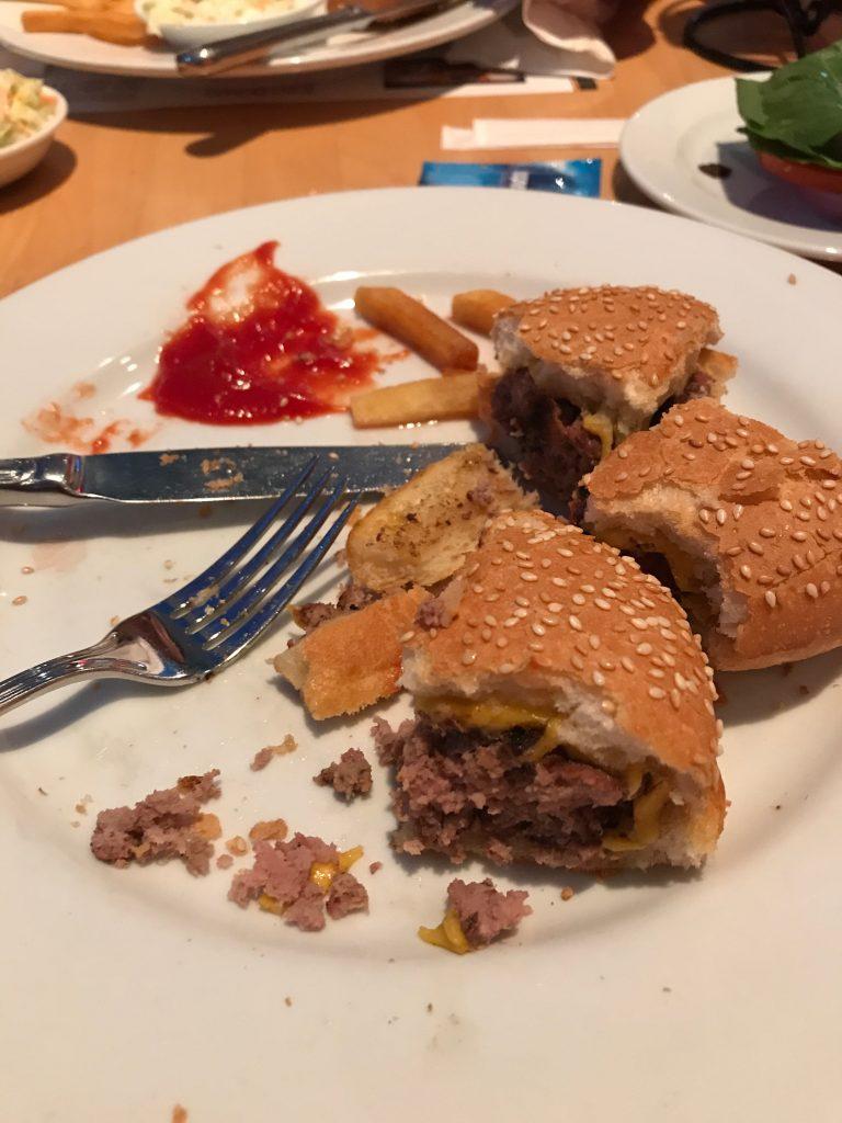 Bangkok burger Tony Roma's