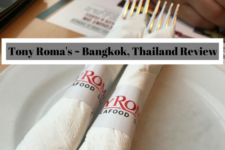 Tony Roma's ~ Bangkok, Thailand Review