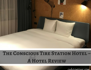 The Conscious Tire Station Hotel ~ A Hotel Review