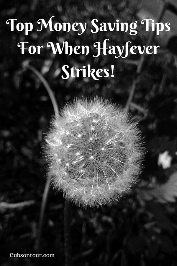 Top Money Saving Tips For When Hayfever Strikes!