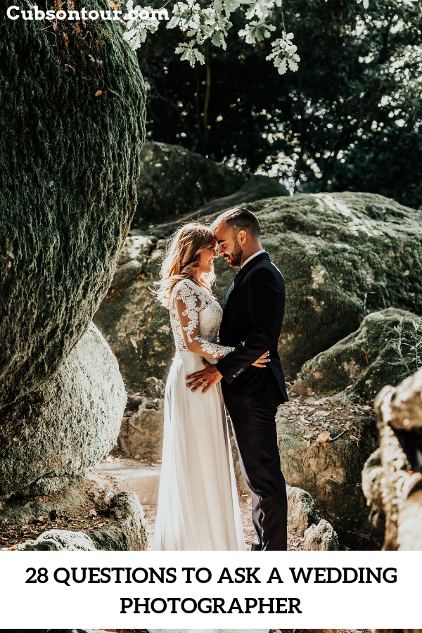 28 Questions To Ask A Wedding Photographer