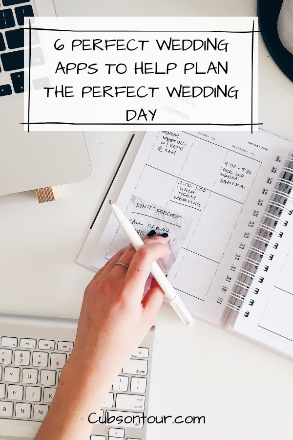 6 Perfect Wedding Apps To Help Plan The Perfect Wedding Day