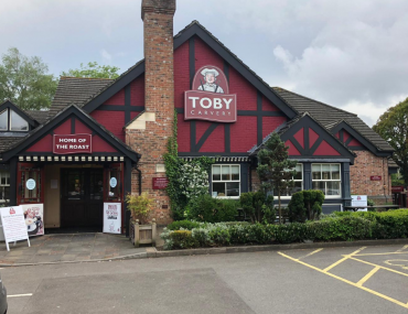 Toby carvery cooper dean restaurant front. Toby Cavery Cooper Dean Pub Restaurant Review