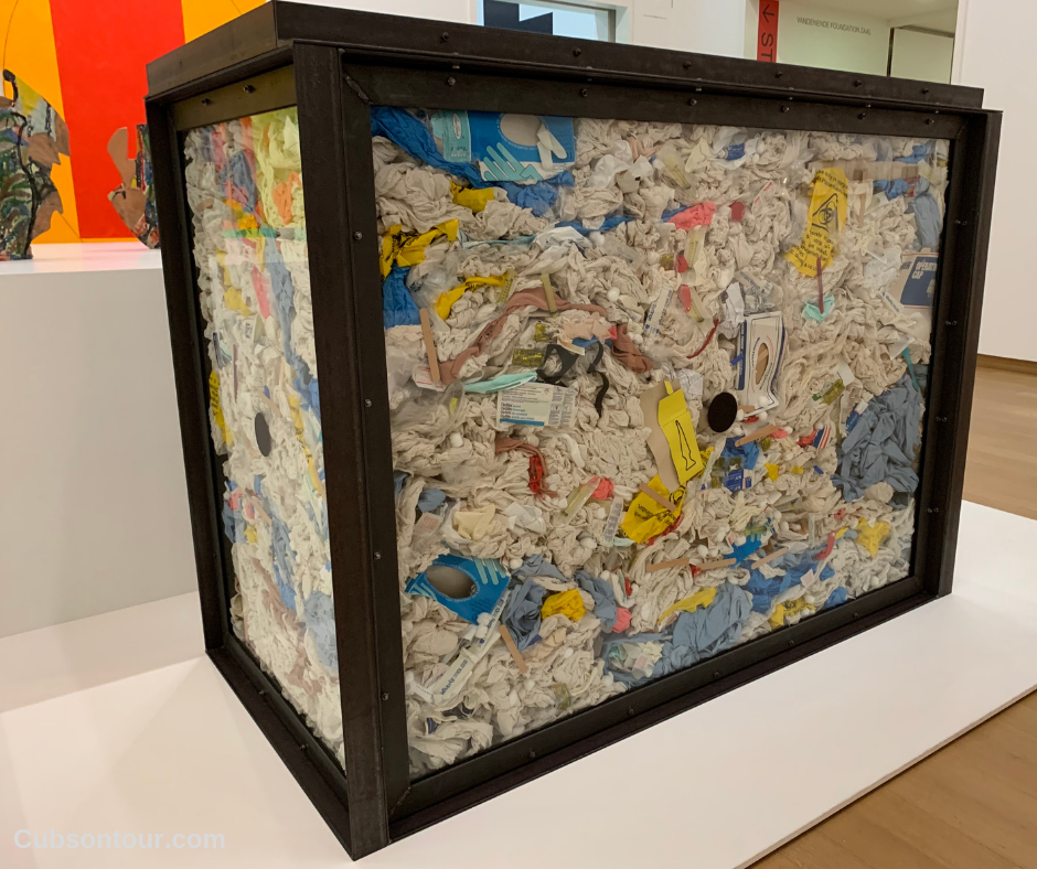 Amsterdam Stedelijk Museum Amsterdam Modern Art Museum Review, modern art hospital rubbish damien hurst