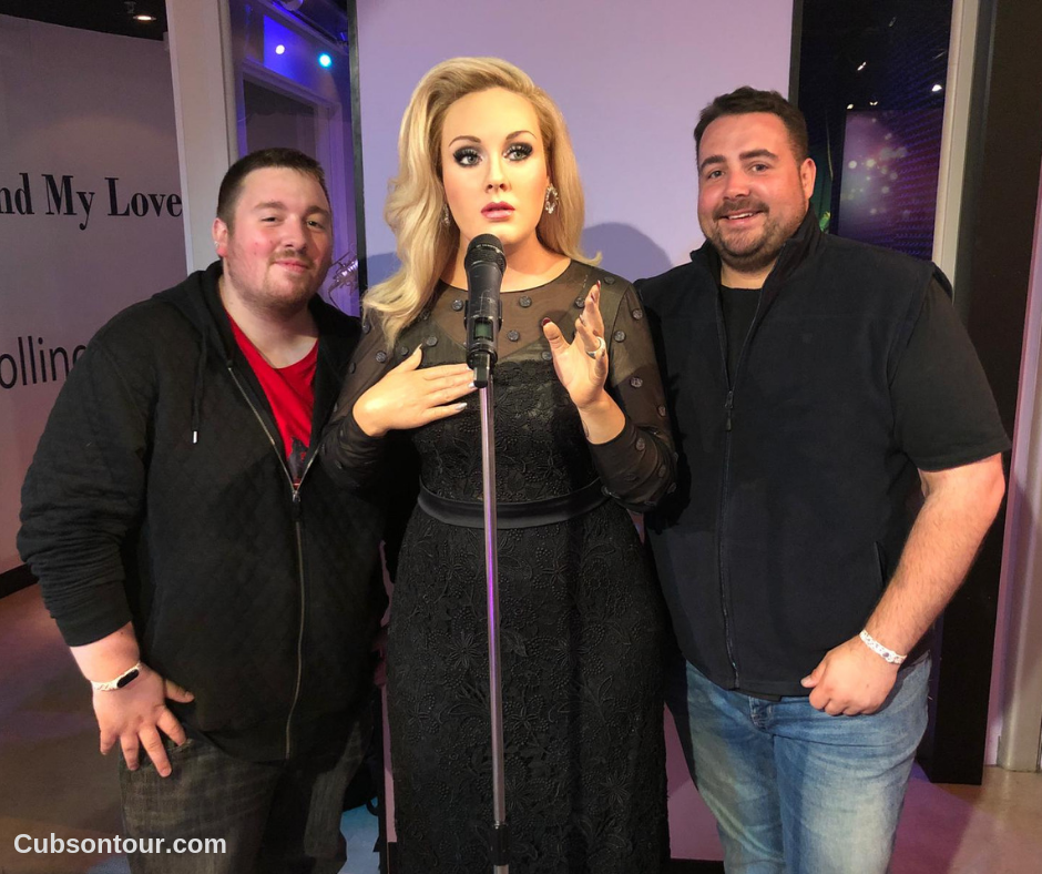 Madame Tussauds Amsterdam Review Amsterdam Adele