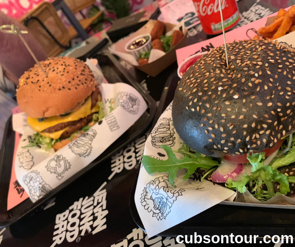 Vegan Junk Food Bar VFJB Amsterdam Burgers