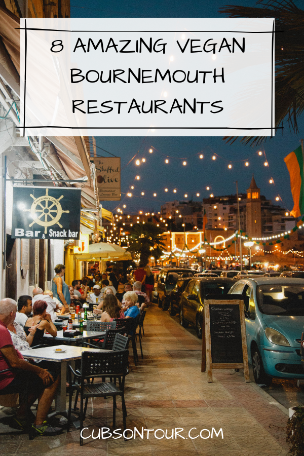 8 places to eat in Bournemouth, Bournemouth vegan restaurants
