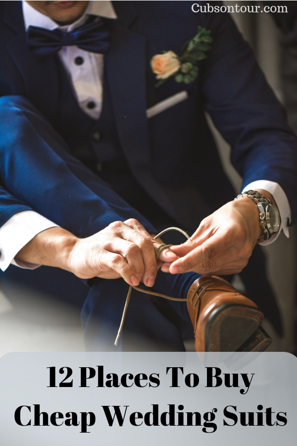 12 Places To Buy Cheap Wedding Suits